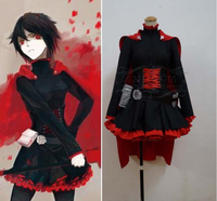 Rwby red Remolques Ruby Rose Lindsay Tuggey Cosplay