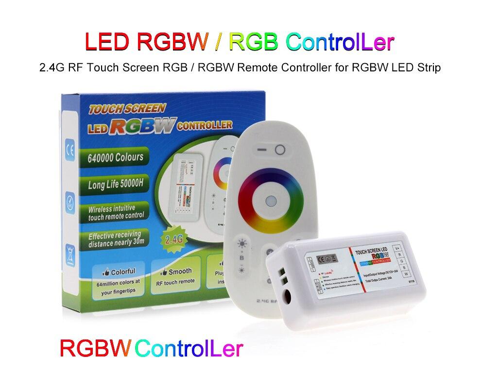 controle remoto para rgb rgbw rgbww conduziu a luz de tira 5050