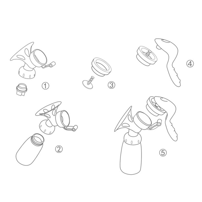 Manual Breast Pump (10)