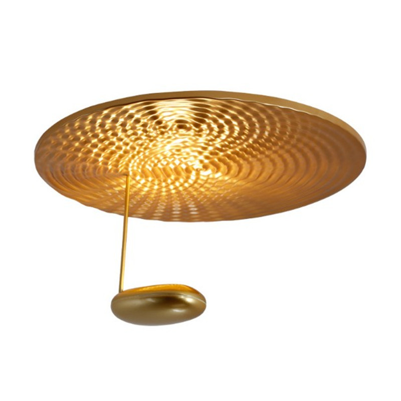 Poste plafond moderne à LEDs lumière nouveauté gouttelette Mini Parled rond en métal Led plafonnier UFO forme Restaurant salle à manger lumière