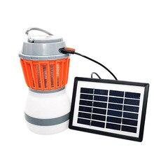 Многофункциональная походная лампа для кемпинга, водонепроницаемый светильник от комаров, ловушка от комаров, ловушка от комаров, насекомых, насекомых, вредителей, отвергающая