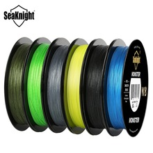 SeaKnight 10pcs MONSTER W8 300M 8 Strands PE Fishing Line Braided Line Smooth Multifilament Fishing Line 7 Colors Wholesale 10pc