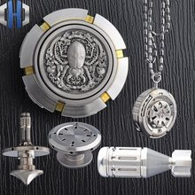 Титановый сплав гироскоп для пальцев мини титановый маховик