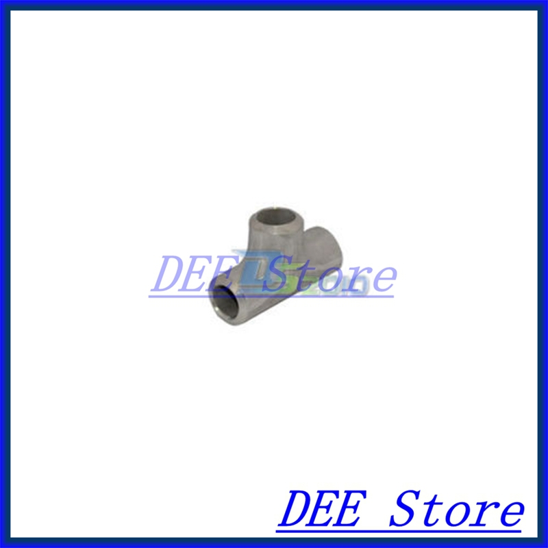 New 27MM Tee 3 way Stainless Steel 304 Butt Weld Pipe Fitting SS304 new 45mm tee 3 way stainless steel 304 butt weld pipe fitting ss304