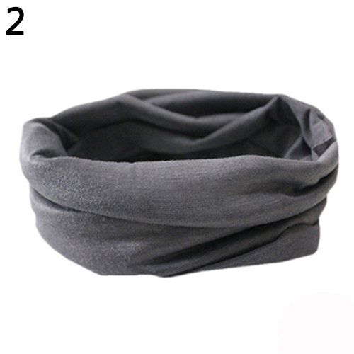 Men Outdoor High Elastic Cycling Seamless Neck Scarf Bike Sport Headband