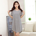 feminino vestido Urban summer Nightdress Lingerie cotton Nightgowns short sleeve dress ladies tracksuit Sleep Wear Home Clothing