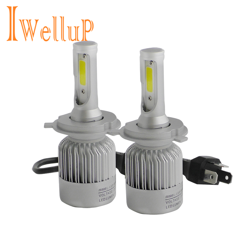 Car Styling H4 H7 LED Headlight Bulbs Kits H8 H9 H3 H11 9005 9006 880 881 9004 9007 H13 H1 LED H7 H4 Automobiles Lights for Car