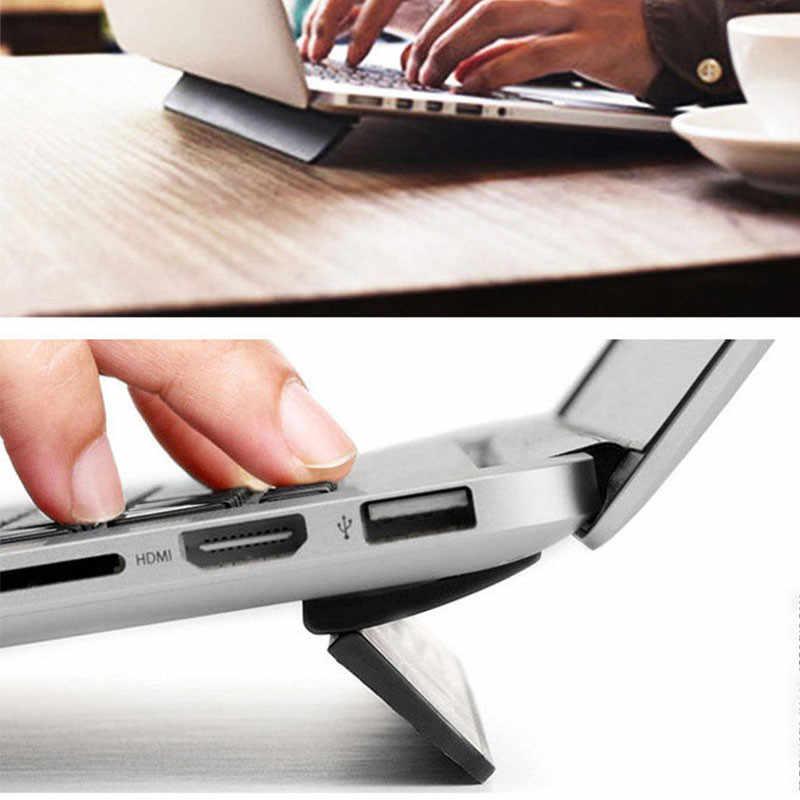 حامل تبريد للكمبيوتر المحمول لماك بوك اير برو ريتينا 13.3 محمول قابل للتعديل للكمبيوتر المحمول وحامل الكمبيوتر المحمول