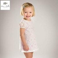 DB5027 Dave Bella Summer Baby Girls Princess Dress Childs Purple Dress Kids Wedding Dress Children Dress
