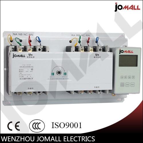 100A 3 phase automatic transfer switch ats with English controller 80a three phase genset ats automatic transfer switch 4p ats 80a