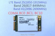 CDMA LTE Mini-Card Module Users Manual Netgear NM7371 4G Card Modem For USA Market