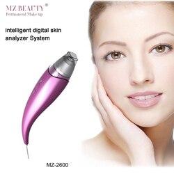 جديد وصول موضة الجلد والوجه الوجه الرطوبة محلل الجلد محلل ذكي نظام تحليل للوشم الجلد الجمال