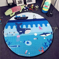 150cm Large Baby Play Mat Playmat Kids Toy Storage Bag Non-slip Bottom Portable Carry Outdoor Playing Mats room decor floor mat