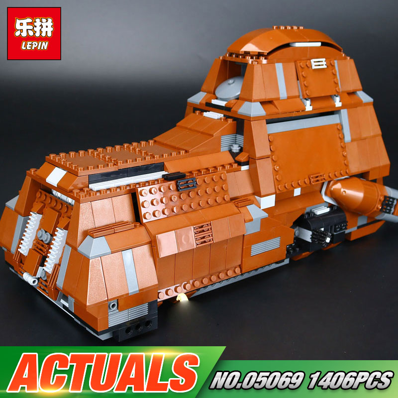 Lepin 05069 Star Series War New The Federation Transportation Tank Set Children Building Blocks Bricks Funny Toys Model 7662 new lp2k series contactor lp2k06015 lp2k06015md lp2 k06015md 220v dc