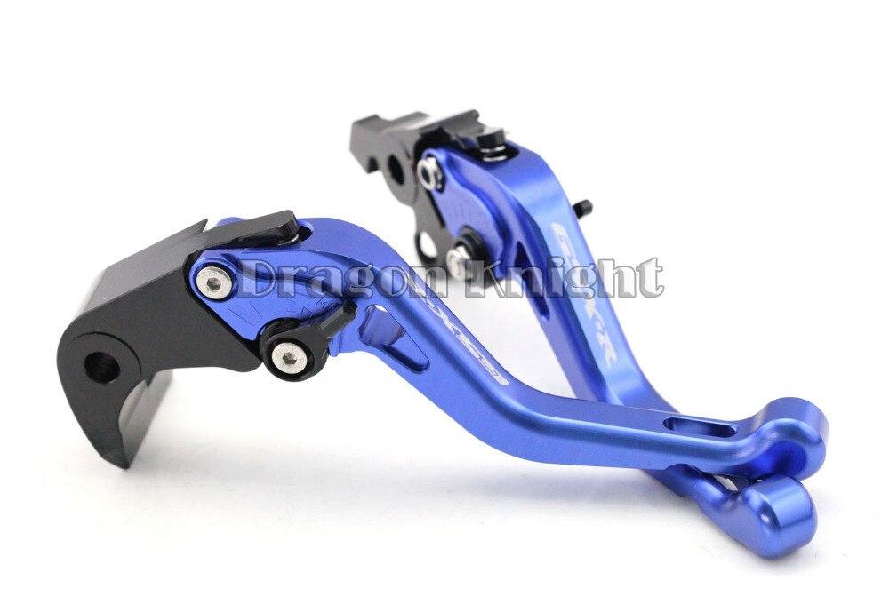 Motocycle Accessories For SUZUKI GSX-R 1000 07-08 Short Brake Clutch Levers Blue