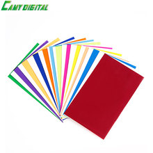 12 Pieces Color Gel Filters Card for Flash Gel Filter Color Balance Diffuser Lighting Universal Type For All of the DSR Camera