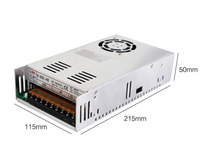 Original MW cnc router Power supply S 350 48 350W 48V 7.3A Switching Power Supply