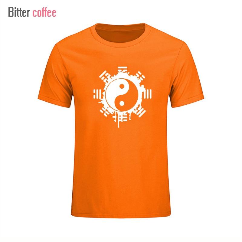 2017 divat nyári t-shirt férfi felső felső kínai Tai Chi tinta - Férfi ruházat - Fénykép 5