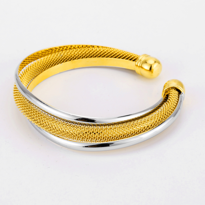 gold gsolk zoom fancy twisted jewellers bracelet art fusion yellow