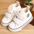 Baby shoes Girl Children Canvas shoes Boys 2017 Spring Autumn Fashion High Cotton-made Baby girl little kids shoes