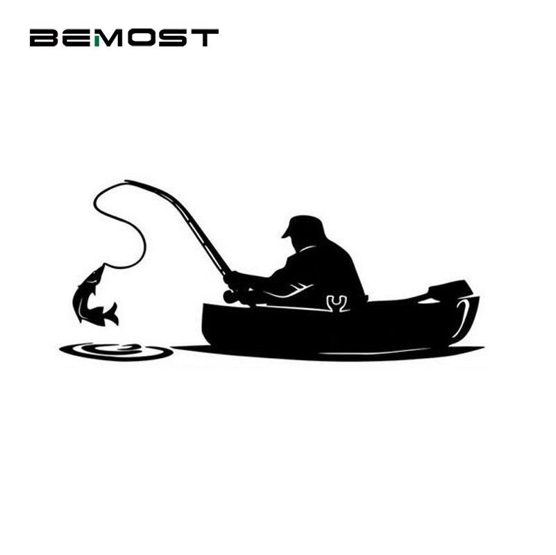 BEMOST 15*6.5cm Interesting Fisherman On Board Fishing Car