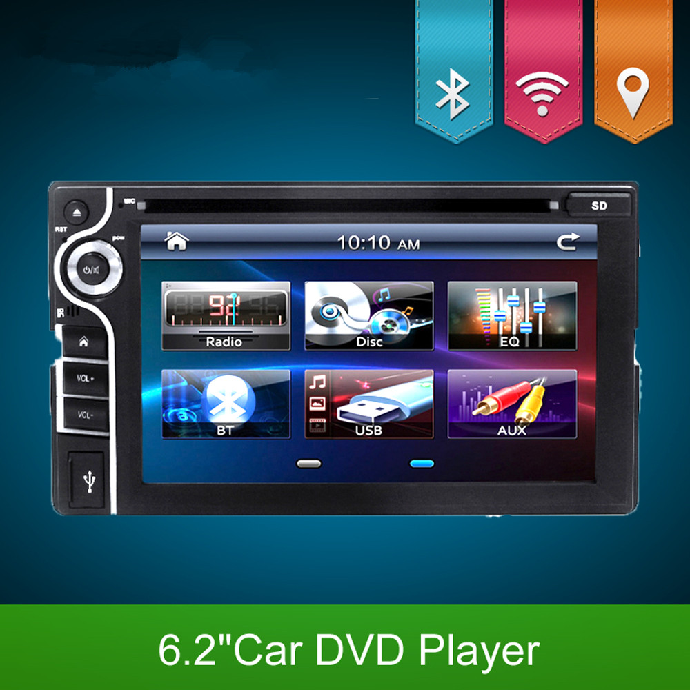 Aliexpress com buy 2016 new 2 din car dvd player double radio stereo in dash mp3 head unit cd camera parking 2din hd tv radio video audio from reliable