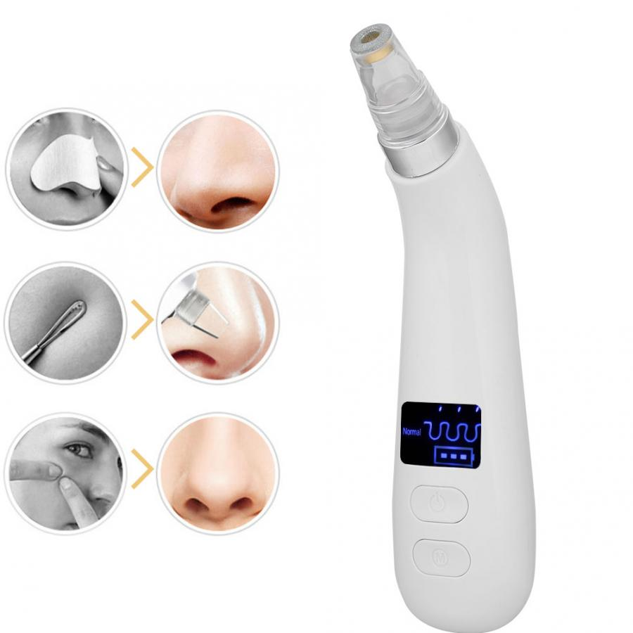 Blackhead Acne Removal Vacuum Electric Blackheads Suction Removal USB Pore Face Nose Skin Deep Cleansing Beauty Skin Care Tool in Face Skin Care Tools from Beauty Health