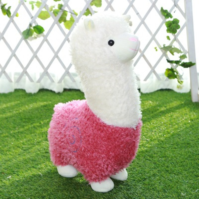 25cm Kawaii Plush Stuffed Animal Cartoon Kids Toys for Girls Children Baby Birthday Christmas Gift Alpaca Doll 13 inch kawaii plush soft stuffed animals baby kids toys for girls children birthday christmas gift angela rabbit metoo doll