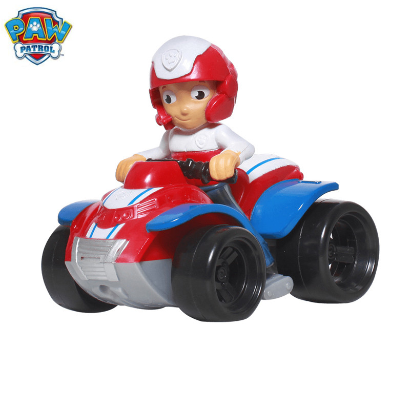 Paw Patrol Dog Puppy Car Patrulla Canina Action Figures vinyl doll Toy Kids Children Toys Gifts lps pet shop toys rare black little cat blue eyes animal models patrulla canina action figures kids toys gift cat free shipping