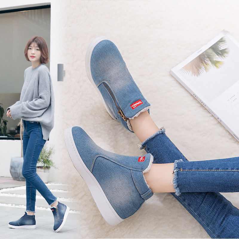 2018-New-Winter-Shoes-Women-Denim-Ankle-Boots-Classic-Zipper-Snow-Boots-Warm-Plush-Thickening-Flat(1)