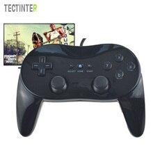Voor Wii Mini Classic Controller Pro Zwart Wit Gamepad Voor Wii Remote Accessoires Video Games Joystick