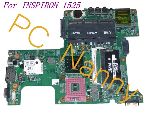 ФОТО For DELL INSPIRON 1525 Laptop Intel Motherboard DDR2 GM965 8YXKW 08YXKW PT113 0PT113 48.4W002.031 - TESTED