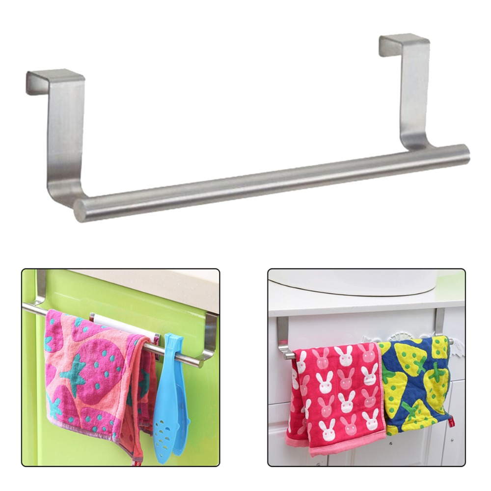 Compare Prices on Rail Bar- Online Shopping/Buy Low Price Rail Bar ... - New Towel Bar Holder Cabinet Hanger Over Door Kitchen Hook Drawer  Storage(China (Mainland