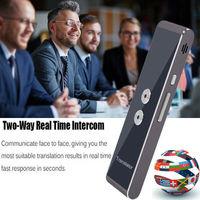 2019 Newest Fashion T8 Instant Voice Translator Mini Portable Bluetooth Wireles Intelligent Interpreter 40 Languages Hot Sale