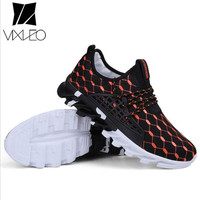 VIXLEO Casual Shoes Male Tenis Hot Sale Designer Mens Shoes Air Mesh Casual Luxury Breathable Male