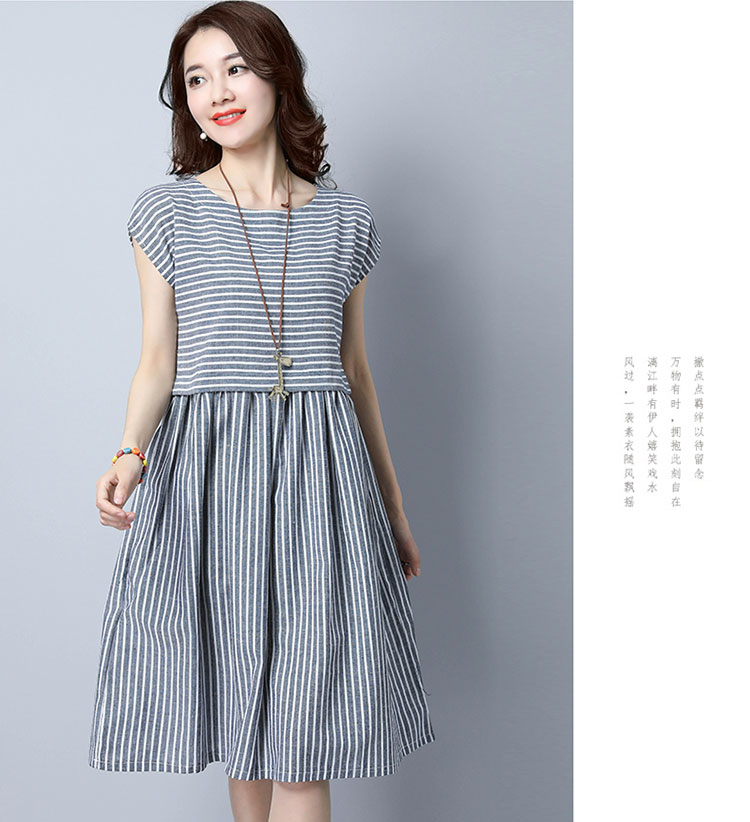 690f0b5fb243 Товар MIWIMD Women Summer Dress 2018 New Fashion Casual Loose ...