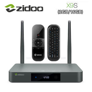 Zidoo X9S Smart TV BOX Android 6.0 LAN Media Player + OpenWRT (NAS) Realtek RTD1295