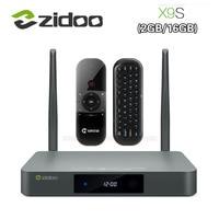 Presale ZIDOO X9S Smart TV BOX Android 6 0 OpenWRT NAS Realtek RTD1295 2G 16G 802