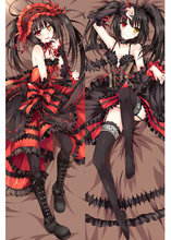 Japanese Anime Otaku Pillow Case Cover DATE A LIVE Tokisaki Kurumi hugging body цена 2017