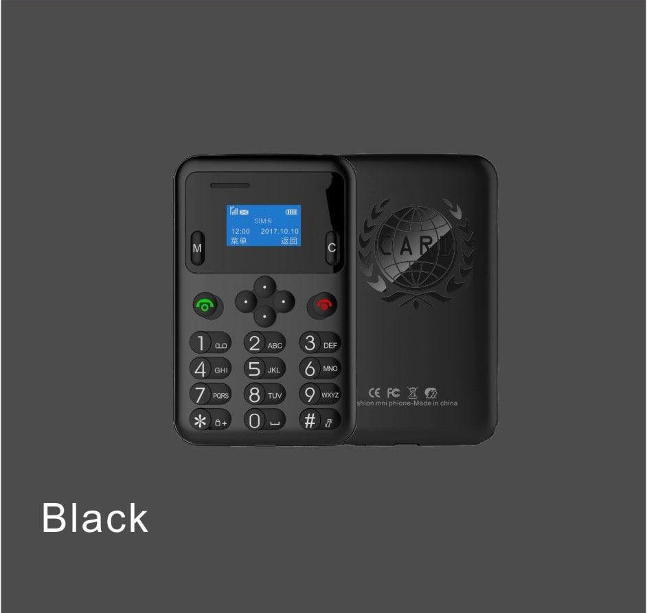 New Style Ultra Thin Mini AIEK/AEKU A6 Smart Phone Multi Language Low Radiation unlocked students personality children phone