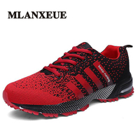 Mlanxeue Fashion Breathable Lovers Unisex Casual Shoes Lace Up Men Shoes Human Comfortable Race Male Shoe