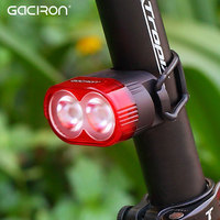 Gaciron Cycling Smart Visual Warning Safety Light Bicycle LED Tail Light Bike Rear Lamp USB Charge