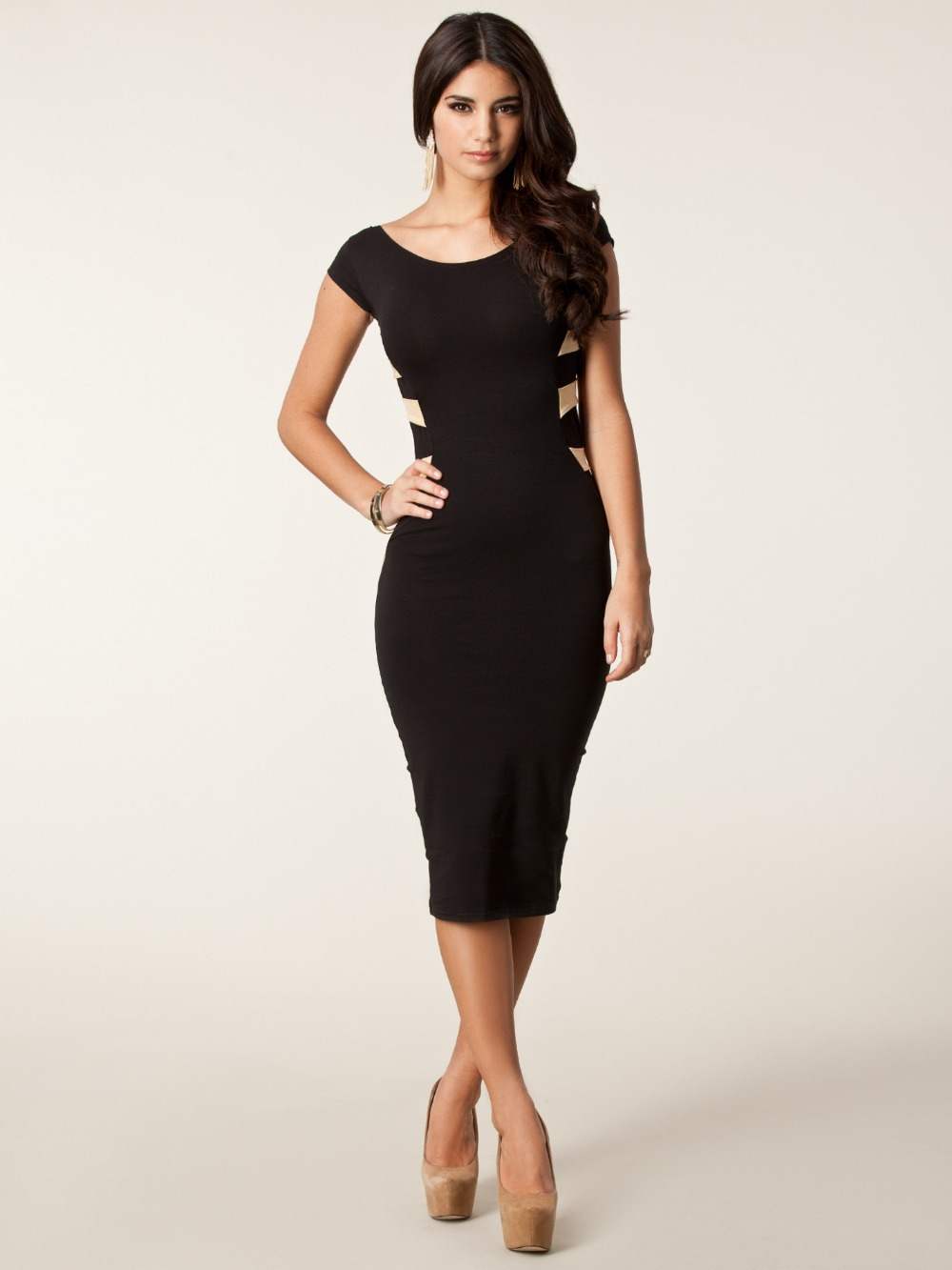 Compare Prices on Discount Black Dresses- Online Shopping/Buy Low ...