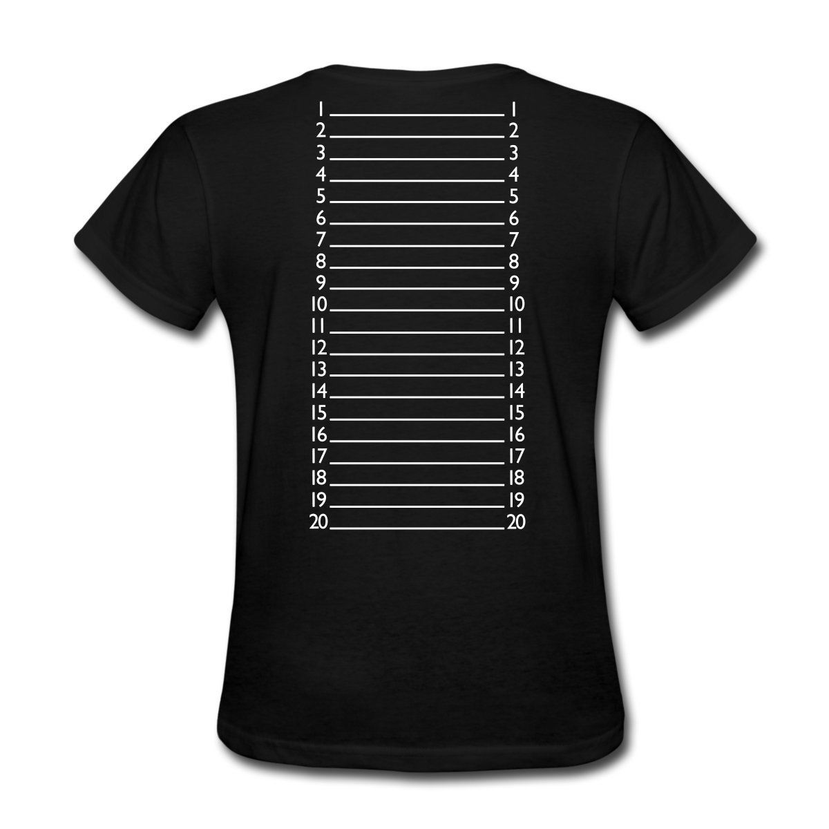 Hair Length Check Marker Womens T-Shirt Designer WomenS T Shirt High Quality Ladies Printed Tops Popular Tees Punk Tops