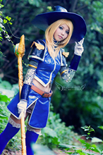 Lol Star Guardian Arcane Lux Cosplay Costume With Weapon Custom Made
