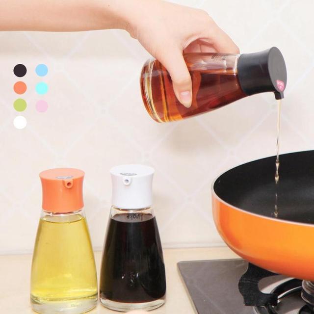 Perfect Glass Bottle Seasoning Bottle Kitchen Tool Storage Bottles Oil Soy Sauce  Spice Jar Seasoning Box Cans