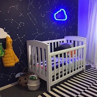 2017 INS Hot LED Heart Cloud Neon Sign Led Light Night Lamp For Children Baby Kid Girls Newborn Room Wall Decoration Gift