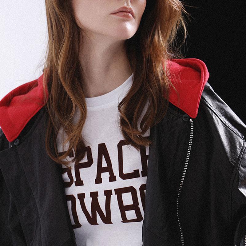 Femmes Blazer Leatherjacket Vestes Cuir Bomber Veste Zip Souple Baseball Uniforme Hoodie Outfit Pu Blanc Faux Nouveau Noir Manteau 1YqwHf