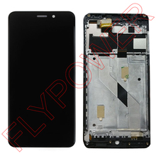 100% warranty Black Color LCD Screen Display With Touch Screen Digitizer + Frame Assembly for UMI Super 5.5 inch FHD 1920*1080