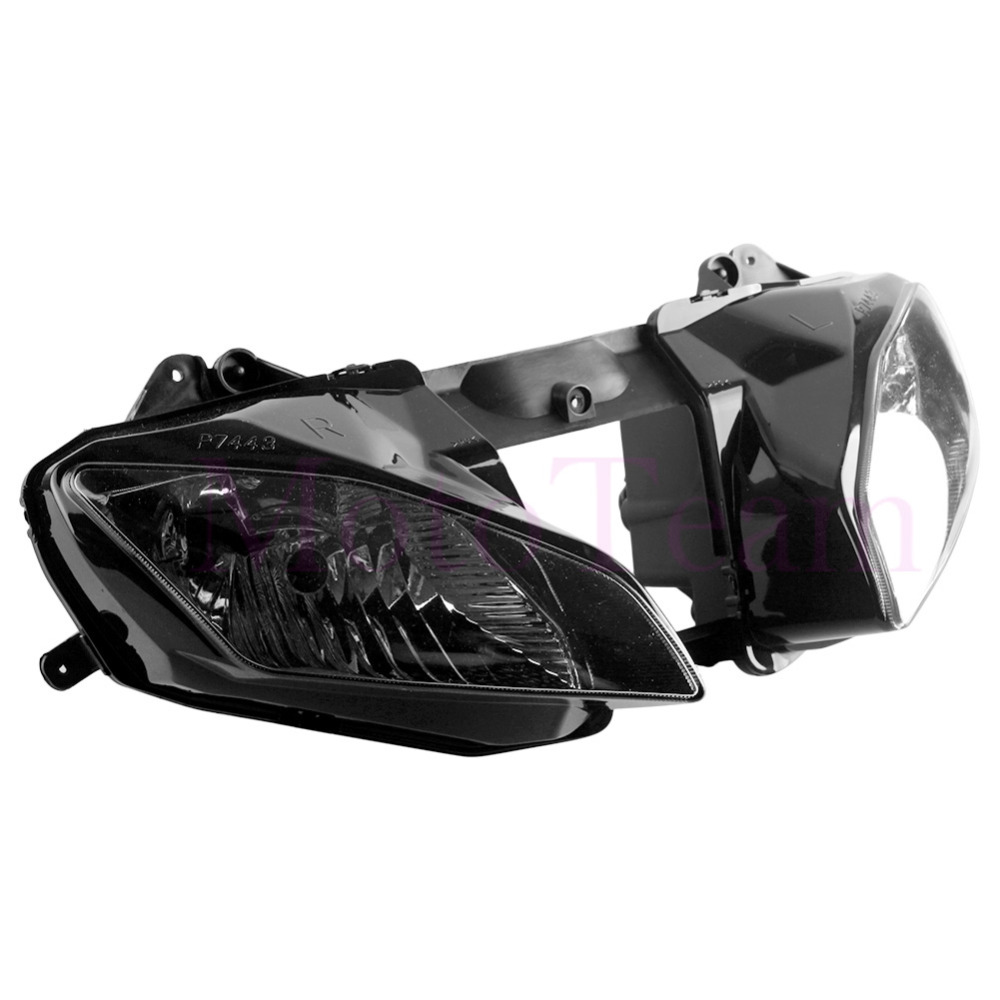 Lighting-Lamp Headlamp Yamaha Moto New for YZF Replace Clear R6 2009 2008 600 title=